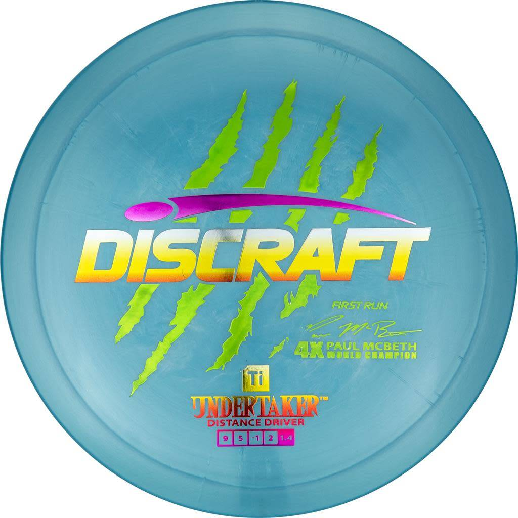 Discraft Discraft Paul McBeth (First Run) Ti Undertaker |173g-174g