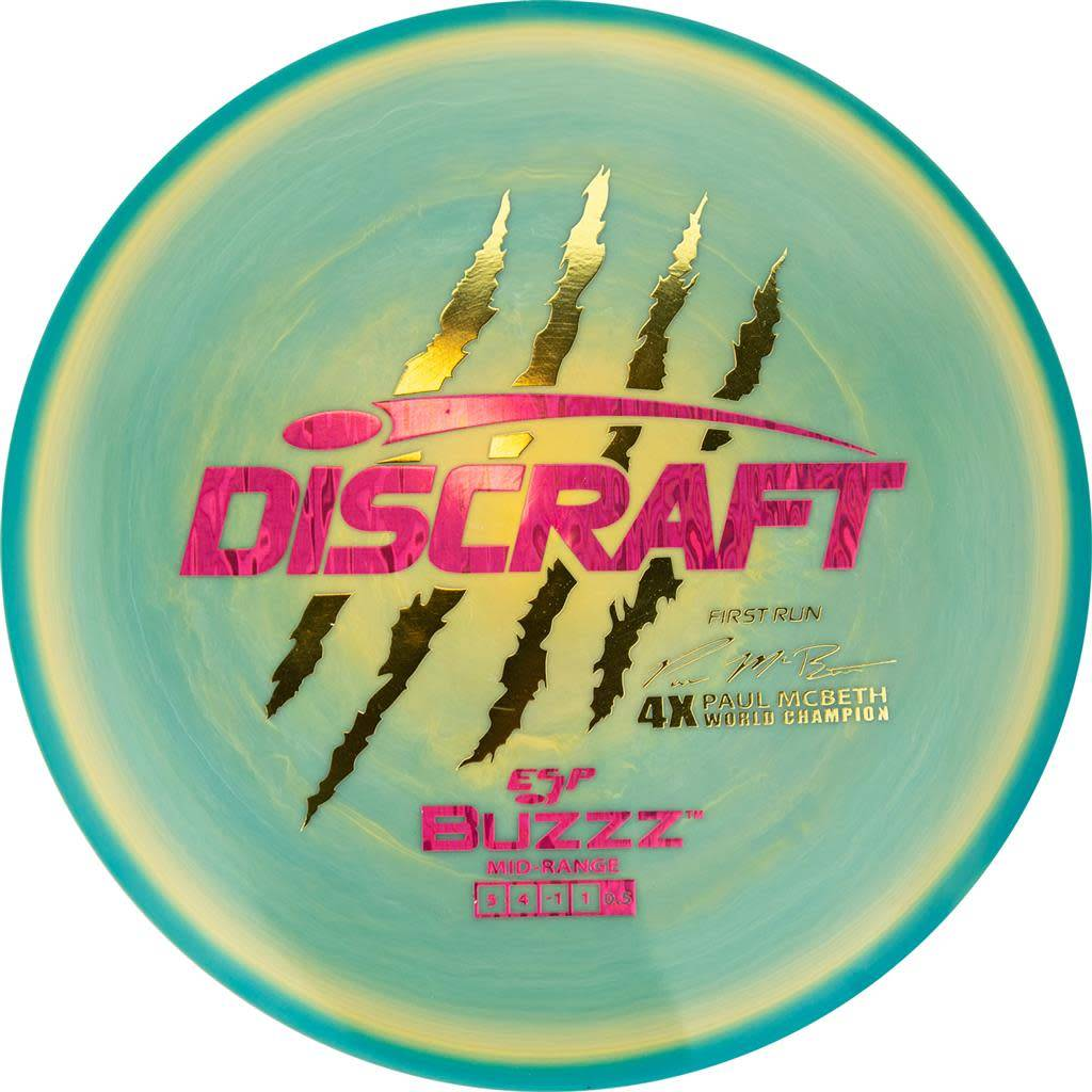 Discraft Discraft Paul McBeth (First Run) ESP Buzzz (177g)
