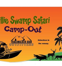 TrailWalker Gear Billie Swamp Safari Camp-Out
