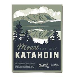 The LandMark Project LMP | Mount Katahdin Poster