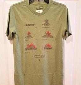 The LandMark Project Landmark Project Campcraft Fire SS T-shirt