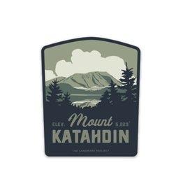 The LandMark Project Landmark Project Mount Katahdin Sticker