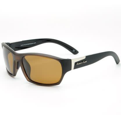 Ocean Eyes Ocean Eyes Tornado Matte Tobacco Amber Sunglasses
