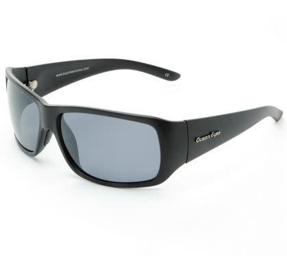 Ocean Eyes Ocean Eyes Hollywood Matte Black Smoke Sunglasses