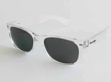 Ocean Eyes Ocean Eyes Phat Kat Crystal Clear, Smoke Sunglasses