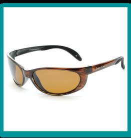 Ocean Eyes Ocean Eyes Bombora Woodgrain, Amber Sunglasses