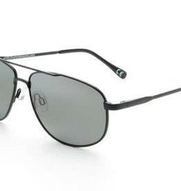 Ocean Eyes Ocean Eyes Everglades Matte Silver, Smoke Sunglasses