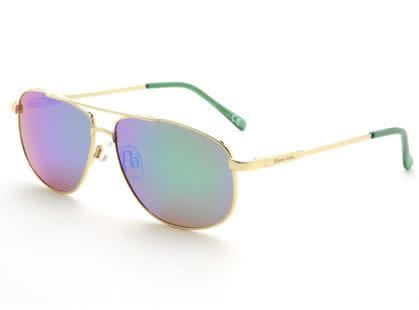 Ocean Eyes Ocean Eyes Everglades Gold, Green Mirror Smoke Sunglasses