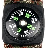 TrailWalker Gear Liquid-Filled Button Compass for Watch Bands & Straps