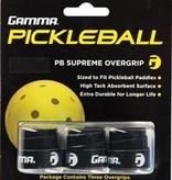 Gamma Gamma Pickleball Supreme Overgrip - Black