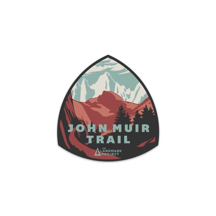 The LandMark Project The Landmark Project John Muir Trail Sticker