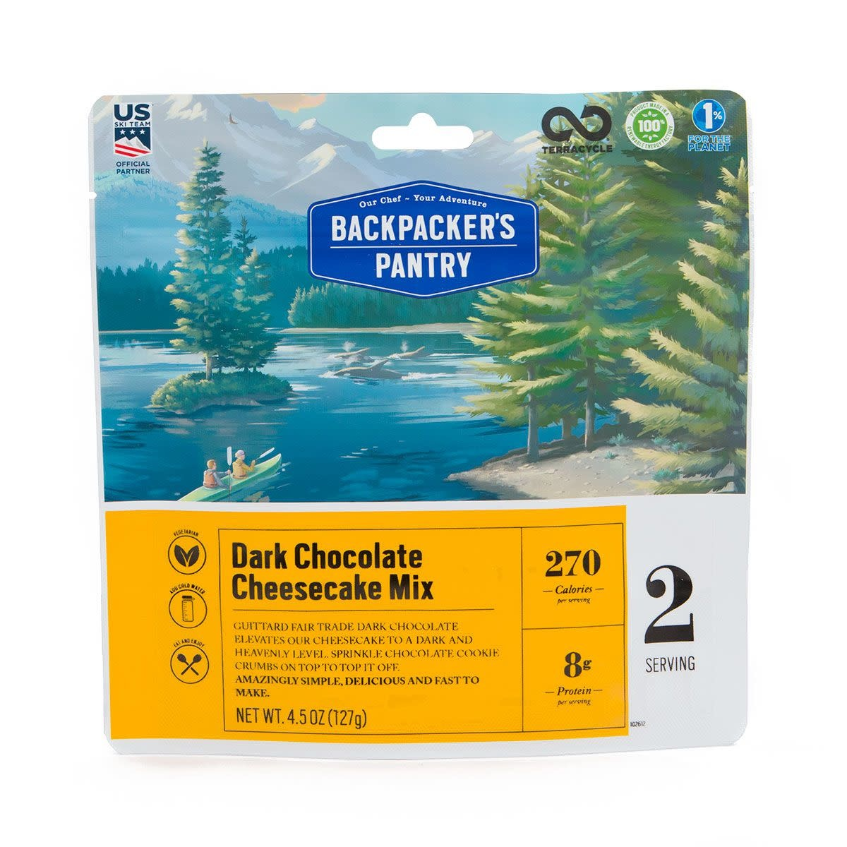 BACKPACKERS PANTRY Backpacker's Pantry Dark Chocolate Cheesecake Mix
