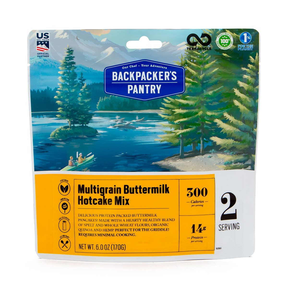 BACKPACKERS PANTRY Backpackers Pantry Multigrain Buttermilk Hotcake Mix