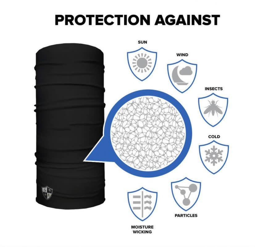 SA Company Face Shield Fire 2.0