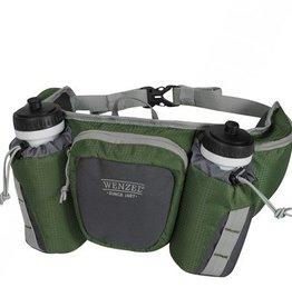 Wenzel Wenzel Freerun 2 Bottle Waist Pack, Forest Green