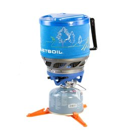Jetboil JetBoil MiniMo Personal Cooking System 1 Liter Blue with Line Art