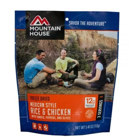 Mountain House Mexican Style Chicken and Fried Rice