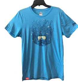 meridian line Scuba Dude Men's Tri-Blend T-Shirt