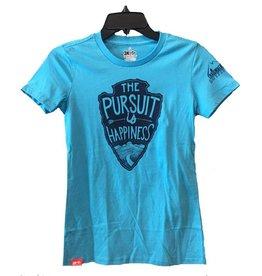 meridian line Meridian Line The Pursuit Women's T-shirt