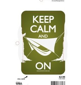 Sportstickers Keep Calm - Hammock