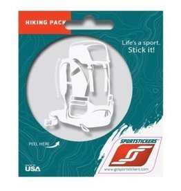 Sportstickers 55L Backpack - White