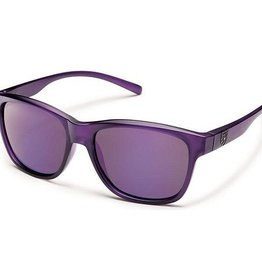 Suncloud Pageant - Frosted Purple, Polarized Polycarbonate
