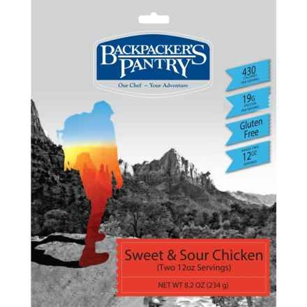 BACKPACKERS PANTRY Backpacker's Pantry Sweet and Sour Rice w/ Chicken