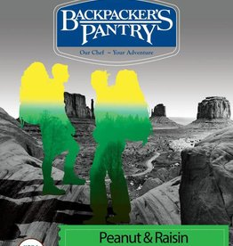 BACKPACKERS PANTRY Backpacker's Pantry Organic Peanut & Raisin Oatmeal