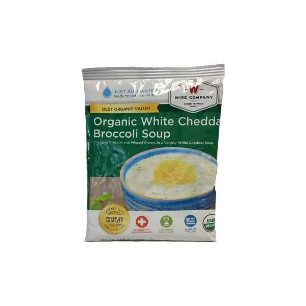 Wise Organic White Cheddar Broccoli Soup