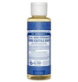 Dr. Bronner's Dr. Bronner's Peppermint Pure-Castile Soap, 4oz