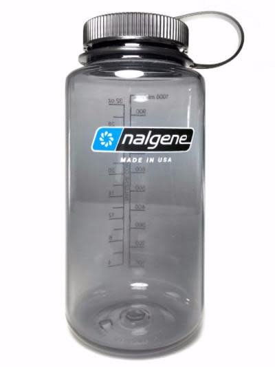 NALGENE Nalgene Tritan 1 QT Water Bottle, Gray w/Black Lid