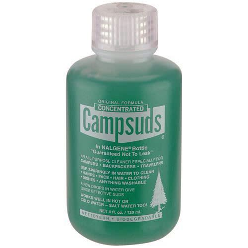 CAMP SUDS Campsuds Consentrated Soap, 4oz in Nalgene Bottle