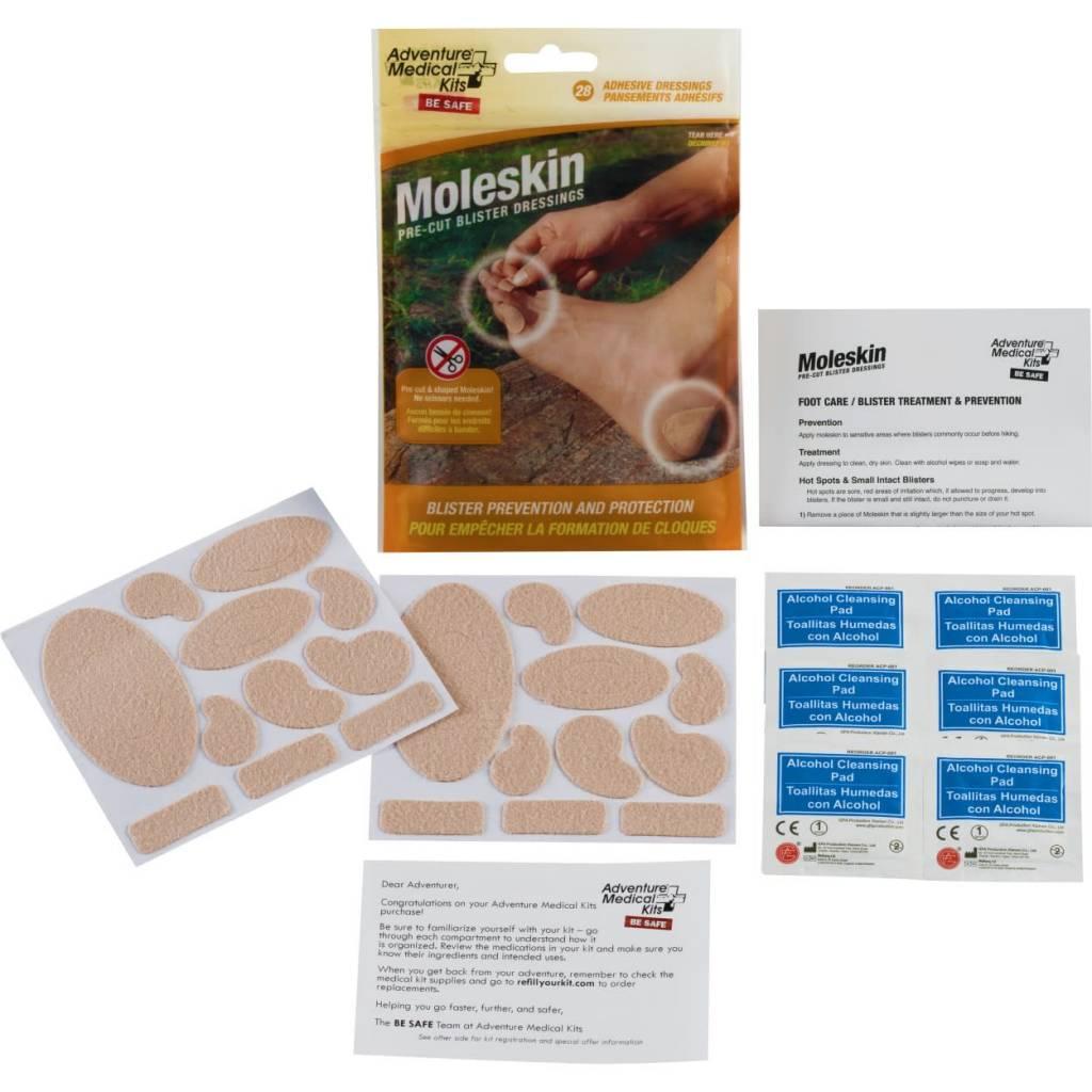American Medical Kits AMK Moleskin Pre-Cut Blister Dressings