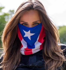 SA Company Face Shield Puerto Rico Flag
