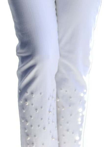 LISETTE BETTY ANKLE JEAN W/PEARL