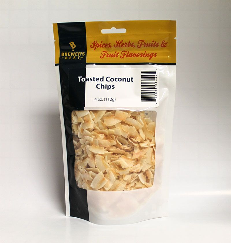 Brewers Best Brewer's Best Toasted Coconut Chips 4 Oz