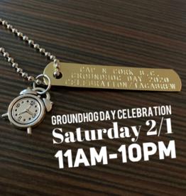 CNC Groundhog Day 2020 Celebration