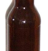 LDC 22 Oz Beer Bottles Amber (12/case)