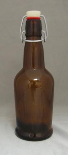 LDC Amber 16 Oz EZ Cap Bottles (12/case)