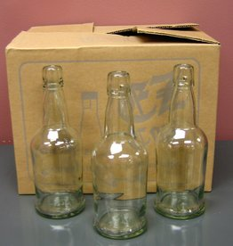 LDC Clear 16 Oz EZ Cap Bottles (12/case)
