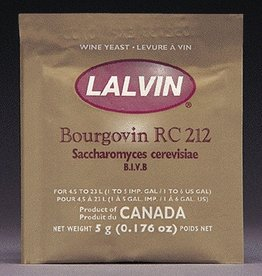 Lalvin RC-212 (Bourgovin) Lalvin Active Freeze Dried Wine Yeast