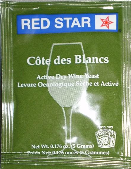 Red Star Red Star Cote Des Blanc Wine Yeast