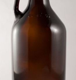 LDC Amber 1/2 Gallon Glass Growler Single