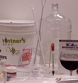 CNC Six Gallon Wine Starter Equipment Kit