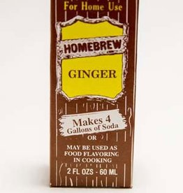 LDC Ginger Soft Drink Extract 2 Oz