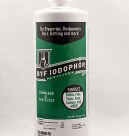National Chemicals Inc. 32 Oz Iodophor BTF Sanitizer