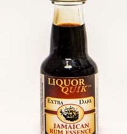 Liquor Quick Dark Jamaician Rum Liquor Quik Essence
