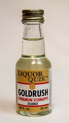 Liquor Quick Goldrush Cinnamon Schnapps Liquor Quik Essence