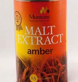 LME Muntons Plain Amber Malt Extract - 1 Tin