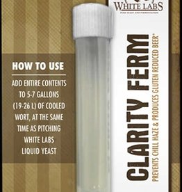 White Labs White Labs Clarity-ferm 10ml Single Dose For 5-7 Gallon